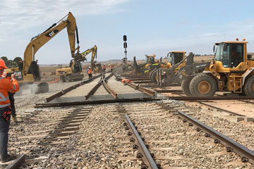 Rail Construction and Maintenance Labour Hire